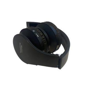 Ασύρματα Ακουστικά Σπαστά Bluetooth σε Μαύρο χρώμα