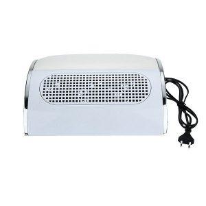 Επαγγελματικός Ηλεκτρικός Απορροφητήρας Σκόνης Νυχιών Λευκό – 858-5
