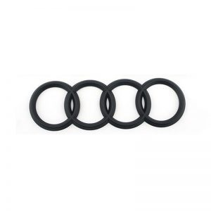 Audi Σήμα Πορτ-Μπαγκάζ Μαύρο Ματ 19.2cm x 6.8cm