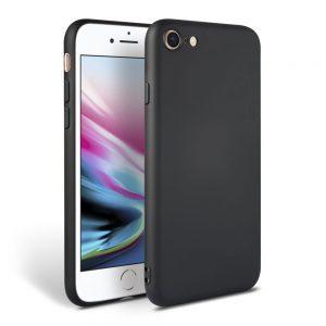 Θήκη Σιλικόνης για iPhone 7/8/SE 2020 Μαύρη