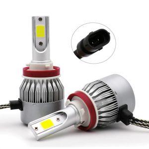 Λάμπες LED C6 H11 Αυτοκινήτου 36W 6000K – 2 Τεμάχια