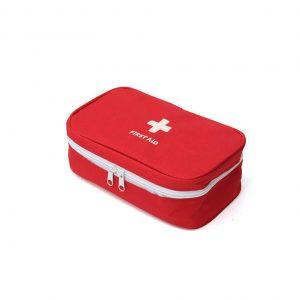Τσαντάκι Φαρμακείου σε Κόκκινο χρώμα  FirstAid1245 22*8,5*13