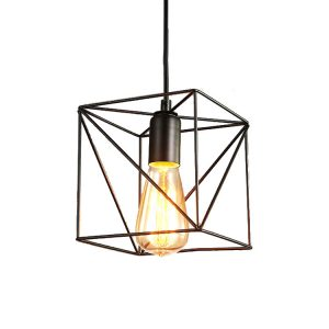 Φωτιστικό Οροφής DDX Cube Μαύρο 15cm*16cm