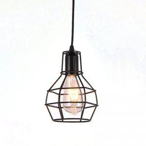 Φωτιστικό Οροφής DDX Granade Μαύρο 13cm*19cm