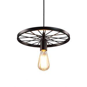 Φωτιστικό Οροφής DDX Wheel Μαύρο 30cm*8cm