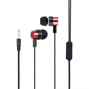 Ακουστικά HandsFree JL-026 σε Κόκκινο χρώμα