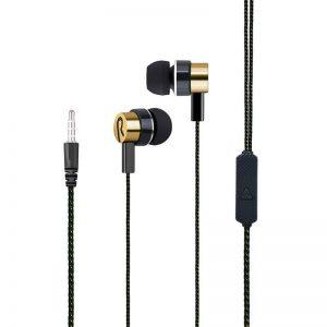 Ακουστικά HandsFree JL-026 σε Χρυσό χρώμα