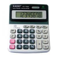 Αριθμομηχανή KD-7766A 8 Ψηφίων σε Μαύρο-Ασημί