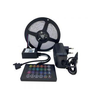 Ταινία LED 30LED/M με WiFI Σετ 5050 12V IP20 RGB 5m