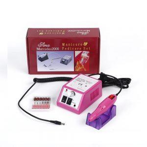 Επαγγελματικός Ηλεκτρικός Τροχός Μανικιούρ-Πεντικιούρ Mercedes2000 Pink YQ-210 12W