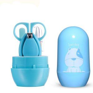 Σετ Περιποίησης Νυχιών Μωρού Baby Blue 4Τμχ