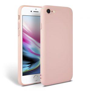 Θήκη Σιλικόνης για iPhone 7/8/SE 2020 Ροζ