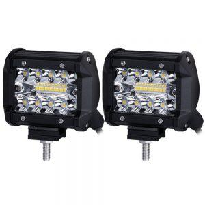 Προβολέας Φωτισμού LED 60W 12V-24V Μαύρο 1Τμχ