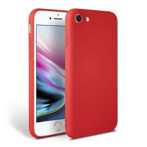 Θήκη Σιλικόνης για iPhone 7/8/SE 2020 Κόκκινη