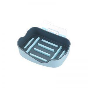 Πλαστική Σαπουνοθήκη Μπάνιου με Αυτοκόλλητο για τον Τοίχο Σιελ