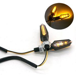 Σετ Φλάς LED Μηχανής HP-025 12V 9LED – 2 Τεμάχια