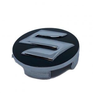 Καπάκια Ζάντας για Suzuki 5.4cm Μαύρο 4 Τεμάχια