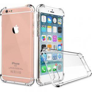Θήκη Σιλικόνης Διάφανη για iPhone 7/8 με ενίσχυση στις γωνίες