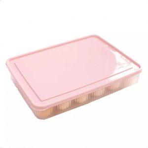 Πλαστική Αυγοθήκη 24 Θέσεων Ροζ