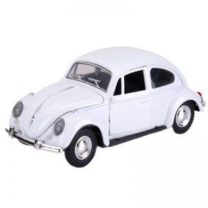 Διακοσμητικό Αυτοκινητάκι Σκαραβαίος σε Άσπρο Χρώμα