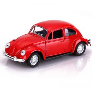 Διακοσμητικό Αυτοκινητάκι Σκαραβαίος σε Κόκκινο Χρώμα
