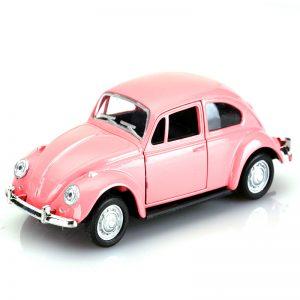 Διακοσμητικό Αυτοκινητάκι Σκαραβαίος σε Ροζ Χρώμα