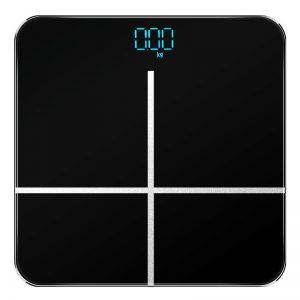 Ψηφιακή Ζυγαριά Μπάνιου Μαύρη έως 180kg DDX-L001